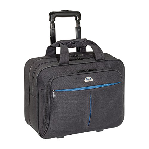 PEDEA business trolley'Premium Air' rolling case for laptops up to 17.3 inches (43.9 cm) with overnight compartment, black