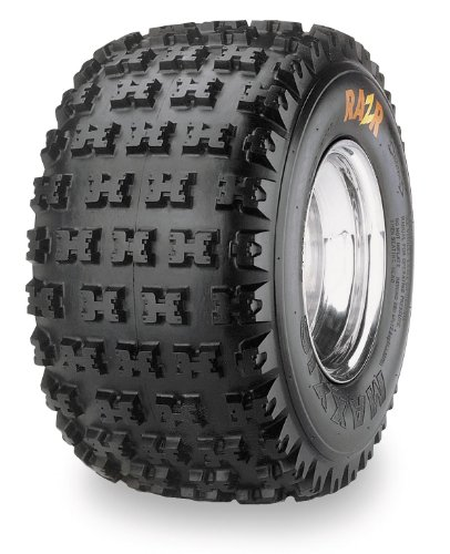 Maxxis M932 Razr Tire - Rear - 20x11x10 , Position: Rear, Tire Ply: 4, Tire Size: 20x11x10, Rim Size: 10, Tire Type: ATV/UTV, Tire Construction: Bias, Tire Application: All-Terrain TM14540000