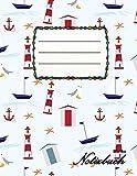 Blanko Notizbuch: A4 Format | 112 Seiten | Notizbuch mit Register | Notizbuch für Jungen und Mädchen | ideal als Tagebuch, Skizzenbuch, Sketchbook, Zeichenbuch oder leeres Malbuch