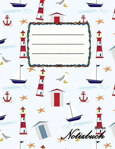 Blanko Notizbuch: A4 Format   112 Seiten   Notizbuch mit Register   Notizbuch für Jungen und Mädchen   ideal als Tagebuch, Skizzenbuch, Sketchbook, Zeichenbuch oder leeres Malbuch
