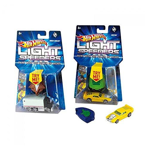 Hot Wheels Light Speeders - Invader w5446