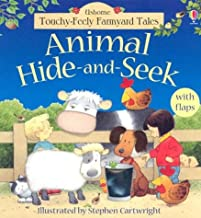 Animal Hide-And-Seek (Touchy Feely Flap Book)