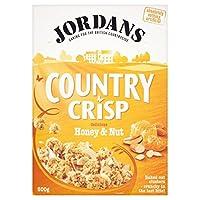 Jordans Country Crisp Honey & Nut (500g) ジョーダン国さわやかな蜂蜜とナッツ( 500グラム)