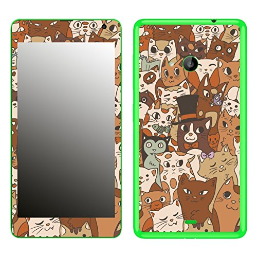 Disagu SF-106230_840 Design Skin für Microsoft Lumia 535 Motiv Mittens and Friends 02
