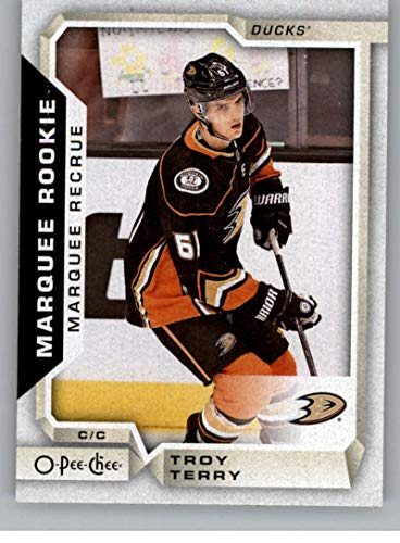 2018-19 OPC O-Pee-Chee Hockey #545 Troy Terry RC Rookie SP Anaheim Ducks Official 18/19 NHL Trading Card