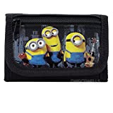 Despicable Me Minions Authentic Licensed Trifold Wallet (Black)