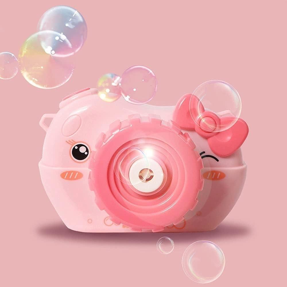 HLD Portable Cartoon Little Cute Cat Bubble Machine, Automatic B
