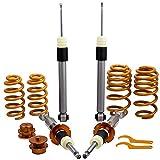 Amortiguador de coche Amortiguador de automóviles KYB KYB COILOVER ABSORTE AJUSTE fit for AUDI A4 B6 B7 (8E) Todos los modelos 2WD / QUATTRO 2001 2002 Suspension 2000-2008 Kit trasero delantero