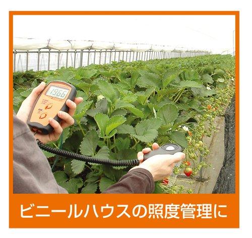 Shinwa『デジタル照度計セパレート式(78747)』