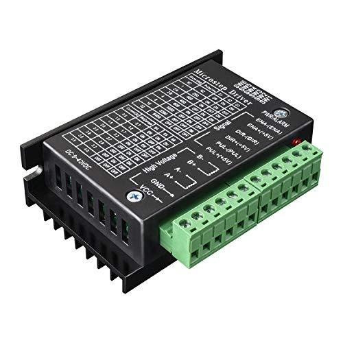 Quimat Nema 17 Schrittmotor stepper driver 1,7A 24V 40mm 40Ncm (56.2oz.in) + Schrittmotor Fahrer 32 Segmente 4A 40V 57/86 für 3D Printer Drucker (QD07)