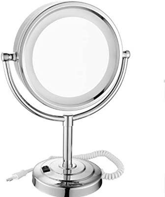 Amazon Com Conair Variable Lighted 1x 10x Mirror In Satin