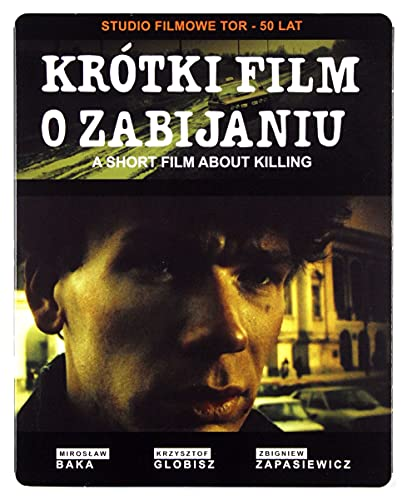 A Short Film About Killing (Krotki Film o Zabijaniu) (Digitally Restored) (steelbook) [Blu-Ray]+[DVD] [Region Free] (English subtitles)