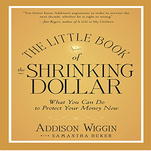 The Little Book of the Shrinking Dollar audiobook cover art