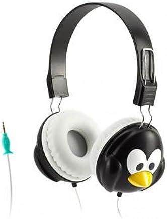 Griffin Technology グリフィン カズー ヘッドフォン ペンギン Kazoo Headphones Penguin GC35863