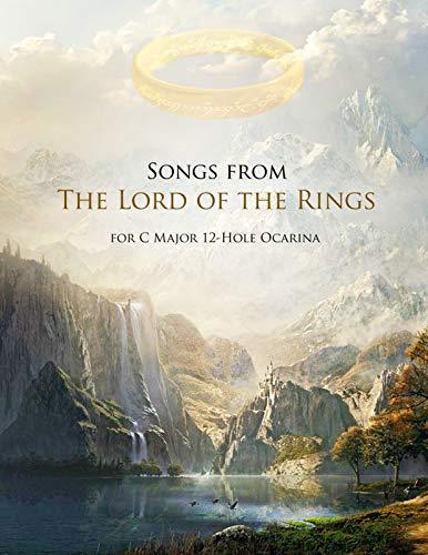 Herr der Ringe Songbook für 12 Loch Okarina