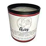 Dox+Lamb Aries Candle, Zodiac Sign Candle, Astrology...