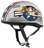 Skid Lid Original Helmet - Bomber Pinup (medium) (black)