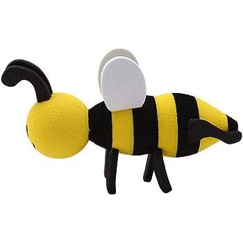 Honey Aerial Ball Bee Car Antenna Topper EVA Foam Antenna Ball Automobile Roof Decorative Antenna Hat
