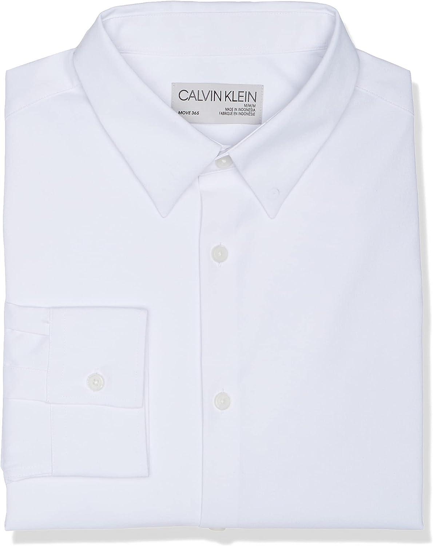Calvin Klein Men's Move 365 Lon Ranking TOP12 Recommendation Crewneck Logo T-Shirt Athleisure