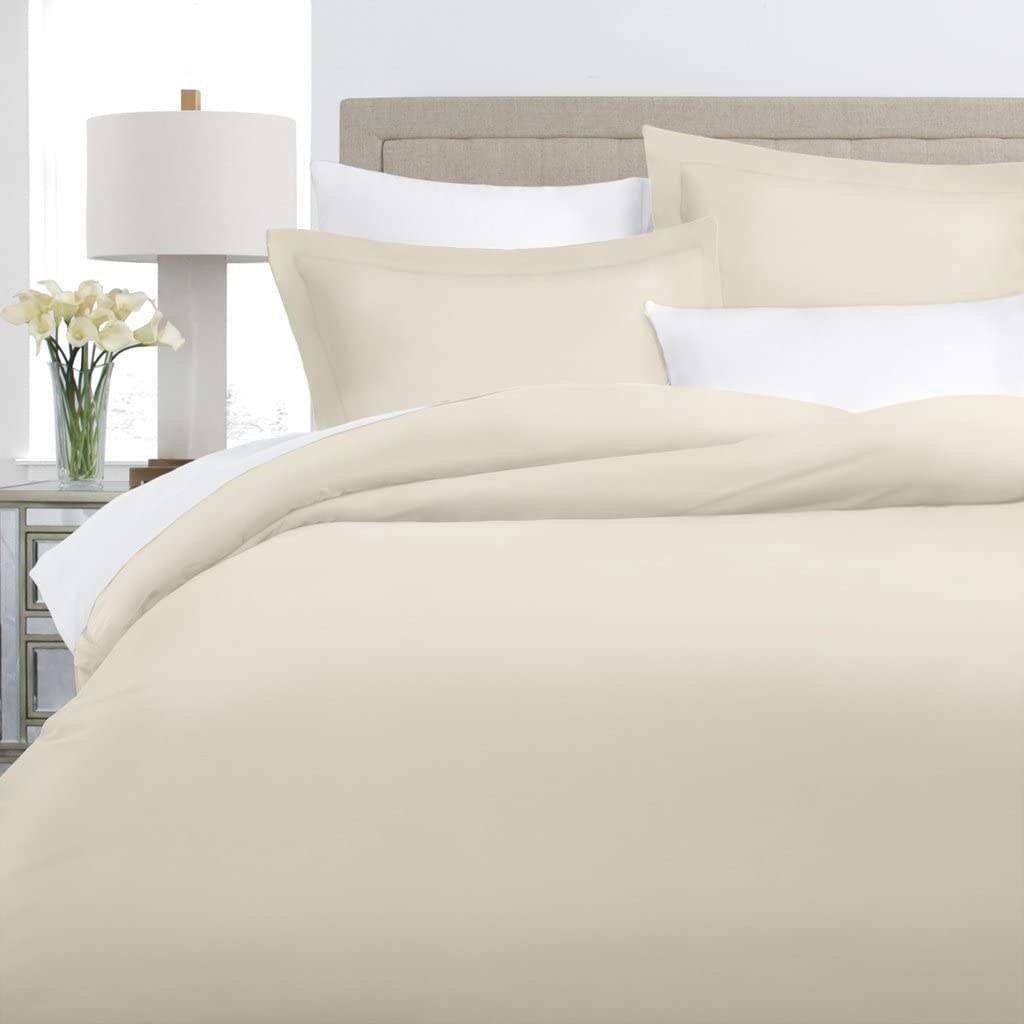 Italian Luxury Raleigh Mall 100% Miami Mall Long-Staple Combed - Set Duvet Cotton Cover