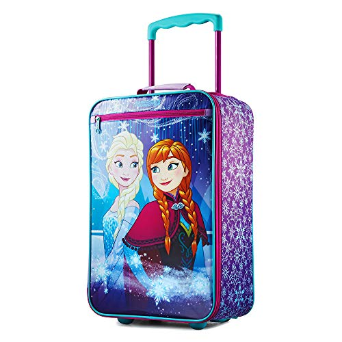 ディズニー アナと雪の女王 キャリーバッグ ソフト スーツケース キッズ American Tourister (アメリカンツーリスター) [並行輸入品]