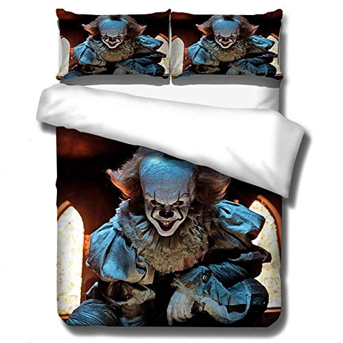 JCCYFRGE Personalized Customized Photo Duvet Cover Bedding Set Double Size 200X200 Cm Cartoon Anime Character Boy Girl Picture Custom Comforter Cover Set 3D Printed Bedclothes + 2 Pillowcase 50 X 75