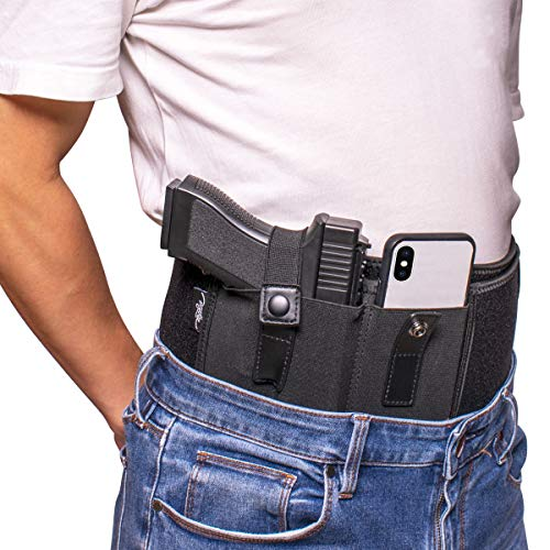 POYOLEE Belly Band Holster for Concealed Carry, Comfortable...