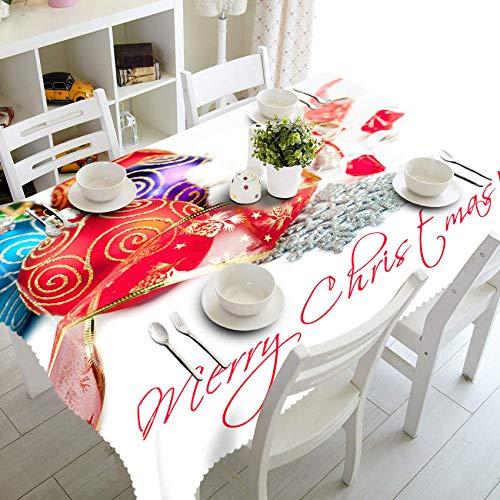 JHLP Mantel de Mesa para Fiestas Custom 3D Table Cloth Exquisite Pattern Waterproof Cloth Thicken Rectangular Wedding Tablecloth Home Textiles-Color_8_60cm_X_120cm