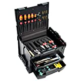 B&W International GmbH B&W Werkzeugkoffer LS-Boxx 306 (Aufbewahrungsbox, Volumen 12 L, Innenmaß 400 x 310 x 100 mm, Steckverbindung, ohne Werkzeug) 118.01