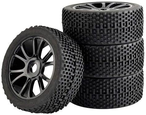 GzxLaY 4PCS 1 8 Off-Road Model Car 112mm Tire Wheel Denver Mall Rubber Excellence