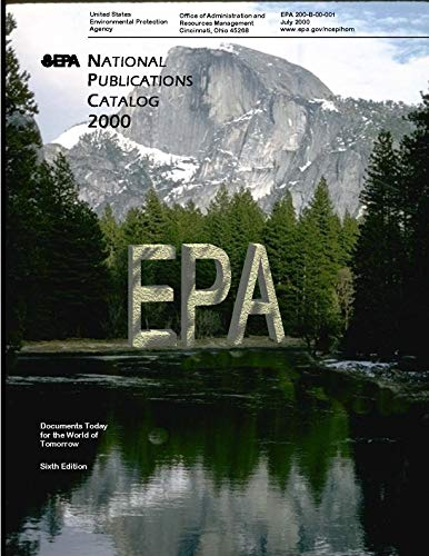 EPA National Publications Catalog 2000 (English Edition)