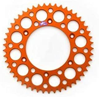 Primary Drive Rear Aluminum Sprocket 50 Tooth Orange for KTM 65 SX 2000-2018