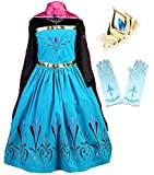 Coronation Costume Long Cape for Girls with...