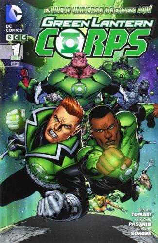 Green Lantern Corps núm. 01 (Green Lantern Corps (Nuevo Universo DC))