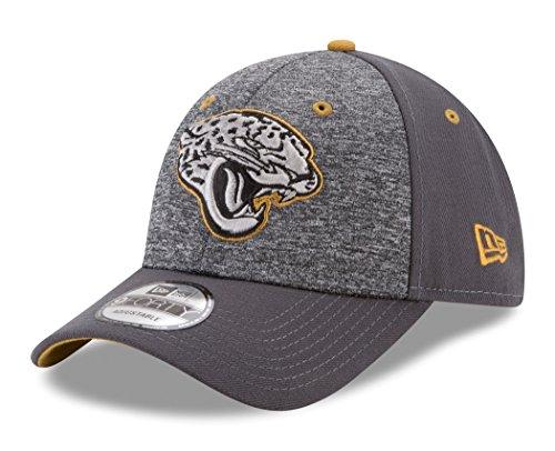 NFL Jacksonville Jaguars Adult Men The League Shadow 2 9FORTY Adjustable Cap, One Size, Graphite