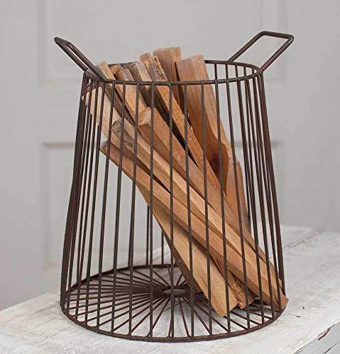 wire basket large round - 8