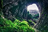 Höhle Natur Stein XXL Wandbild Kunstdruck Foto -Poster-