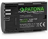 Patona Premium Akku für Canon LP-E6 - Intelligentes Akkusystem - 'neueste Generation' für Canon EOS 60D 60Da 70D 80D 5D Mark II III 6D 7D Mark II