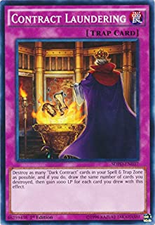 Yu-Gi-Oh - Contract Laundering - SDPD-EN037 - Common - 1st Edition - Pendulum Domination Structure Deck