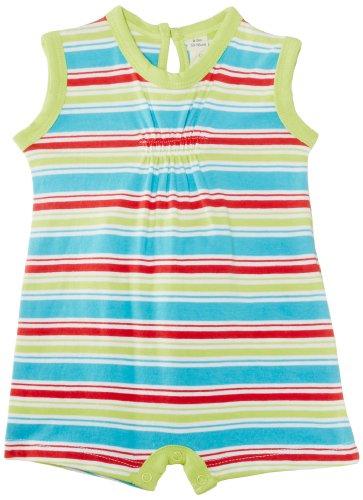 Sense Organics - Combinaison Bébé fille Heba S/S Romper Multi Print - Multicolore (Lime Multi Stripe) - 6 mois