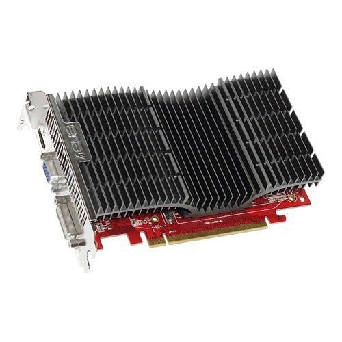 ASUS ATI Radeon EAH5570 SILENT/DI/1GD2 Grafikkarte (PCI-e, 1GB GDDR2 Speicher, 1x DVI-I, 1x D-Sub, 1x HDMI, Passiv)