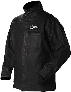 Leather Jacket, Black, Pigskin Leather, XL