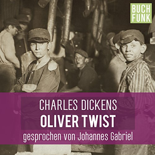 Oliver Twist - ungekürzt audiobook cover art