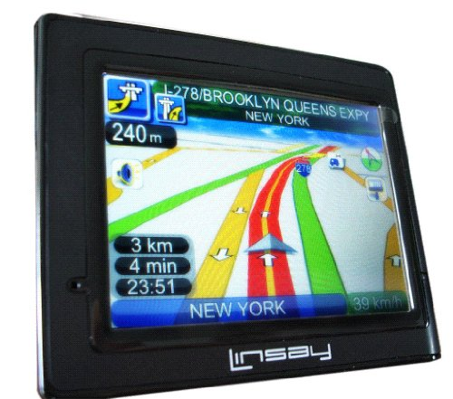 Fantastic Prices! LINSAY LSY-500 The Unique GPS 7 in 1 , USA Canada Maps ! New arrive MULTIMEDIA FUL...