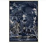 MXIBUN The Terminator Poster Vintage Poster Klassische