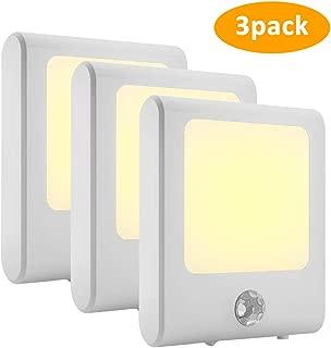Harmonic Night Light,Plug in Dusk to Dawn Sensor Led Night with 3 Modes,Brightness Adjustable Warm Dimmable Motion Sensor Night Lights for Hallway,Bedroom,Stairway,Energy Efficient