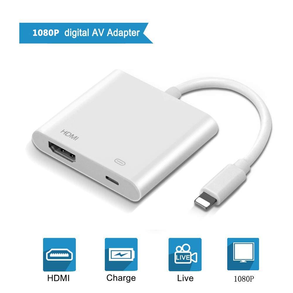 FLYFY Phone HDMI Adaptador 1080P Doigital HD Video Audio Adaptador ...