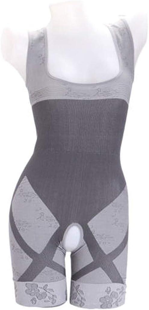 Women Slimming Bamboo Charcoal Thermal Body Shaper Full Body Control Bodysuit Women's Everyday Underwear Panties