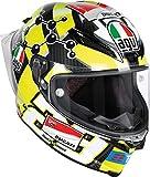 AGV Casco Moto Pista Gp R E2205 Repl.PLK, Iannone 2016 Carbon, L