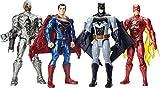 Justice League-FGH11 Figura Batman con luces y sonidos, color negro, gris (Mattel FGH11) , color/modelo surtido
